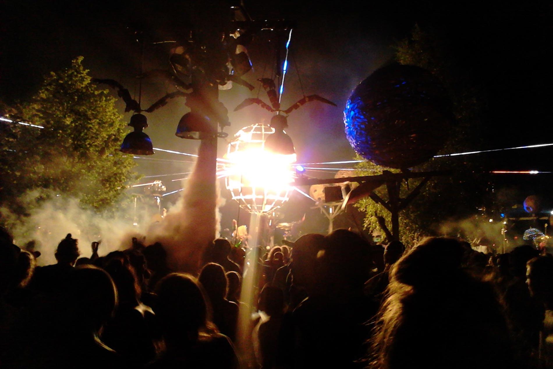 Fusion Festival 2016 Tanzwueste