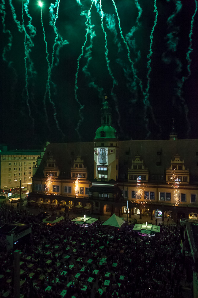 3D Projection Mapping auf Hausfassade