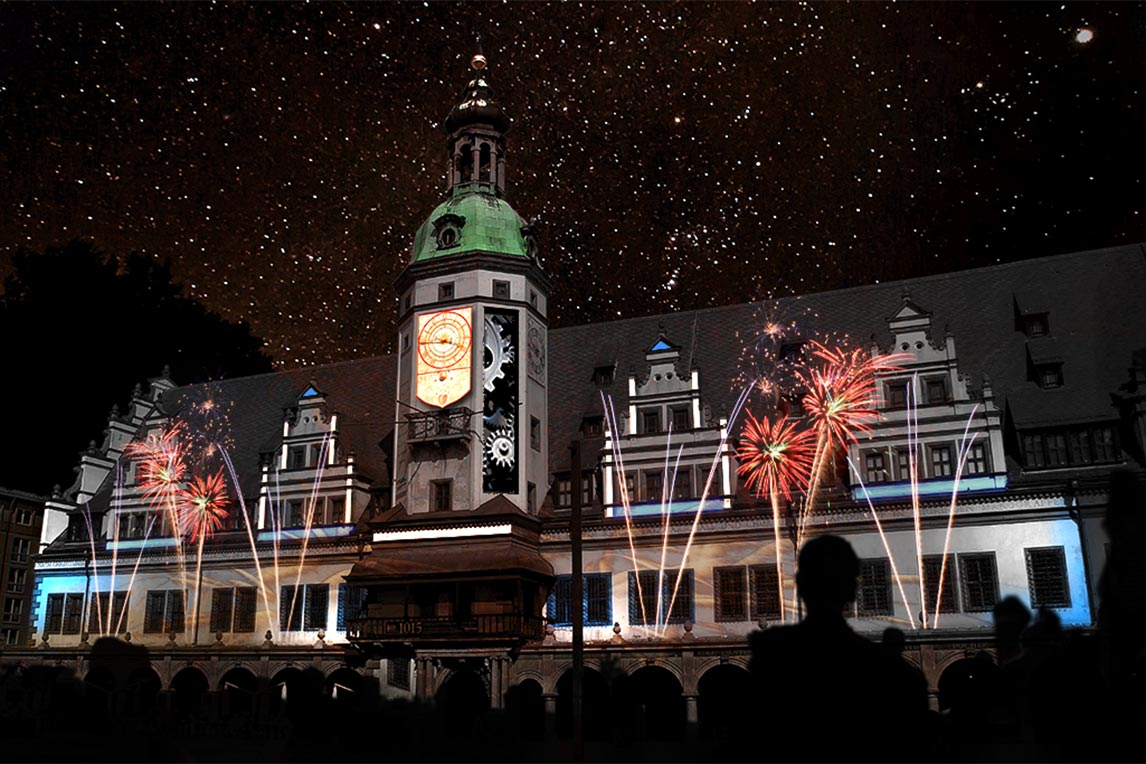 3D Projection Mapping Leipzig