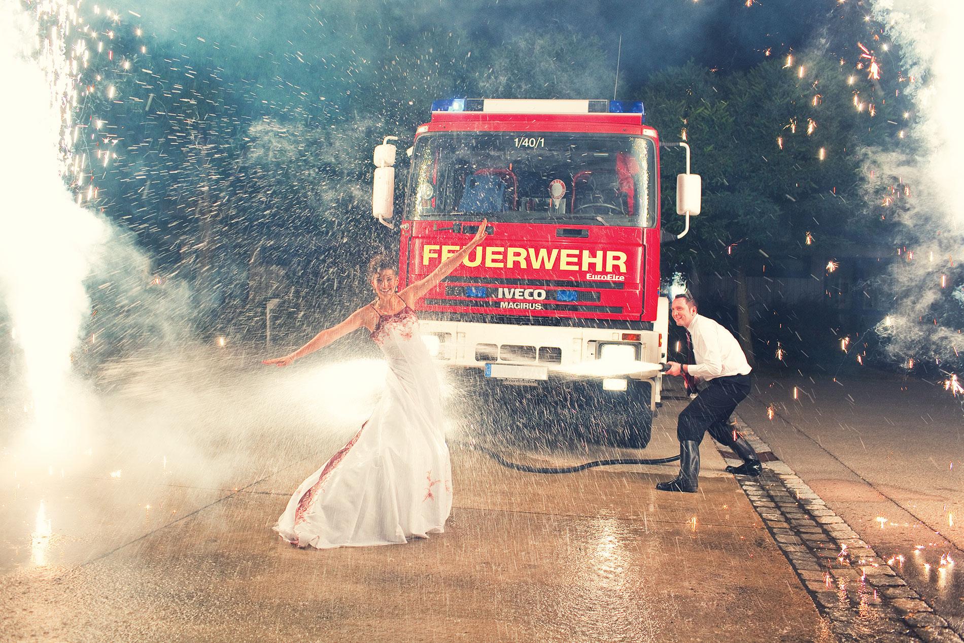 Hochzeitsfeuerwerk in Leipzig