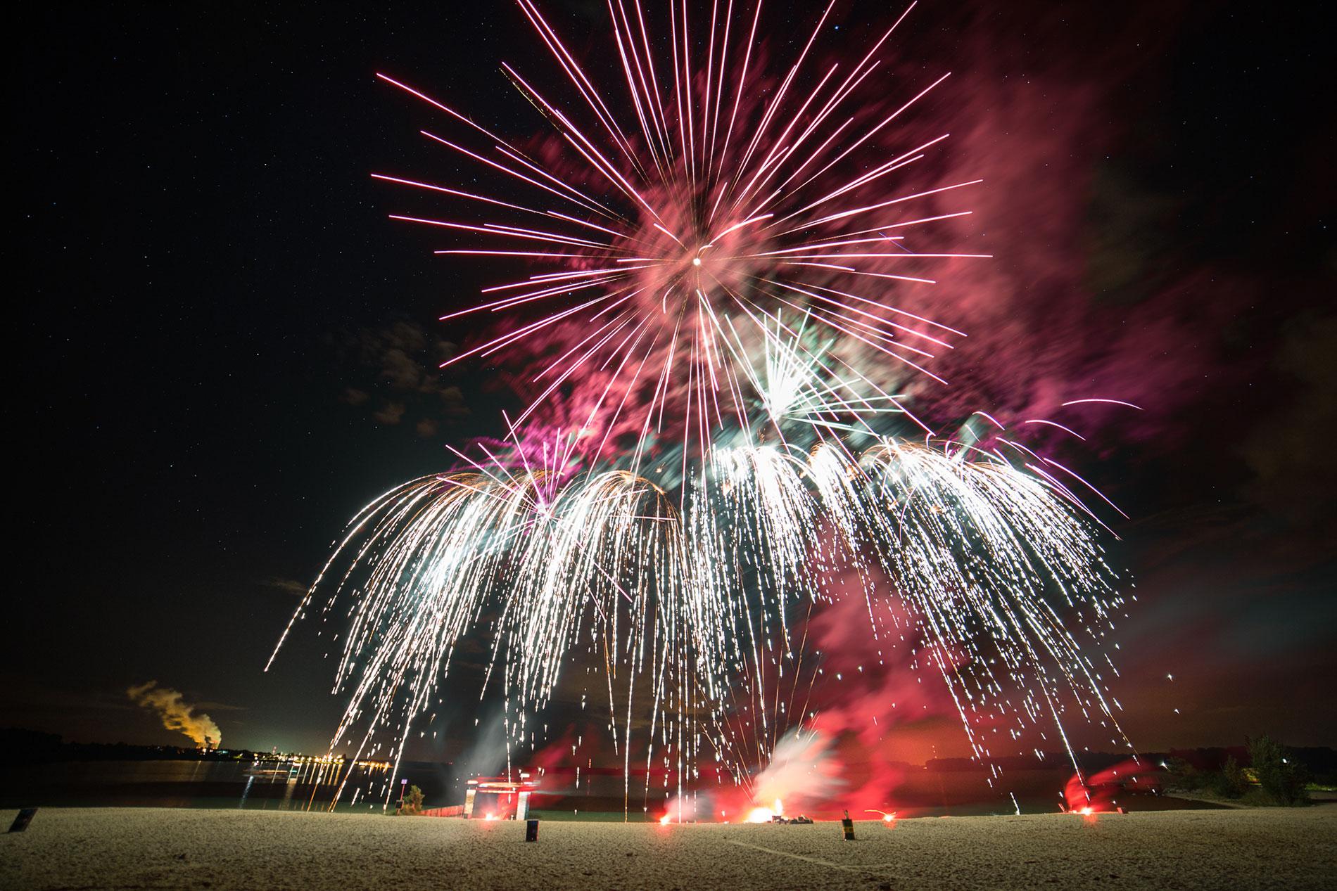 Private Feiern mit Profi-Feuerwerk