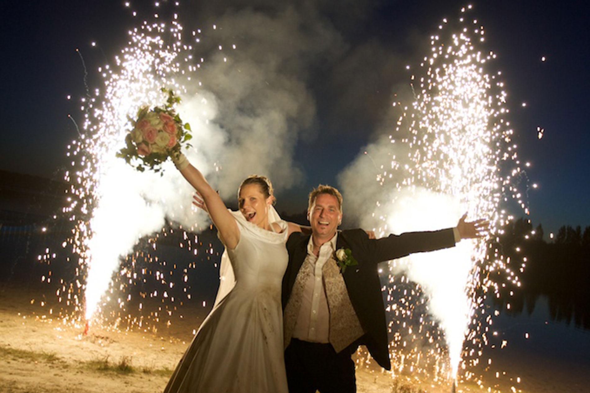 Hochzeitsfeuerwerk vom Profi in Leipzig